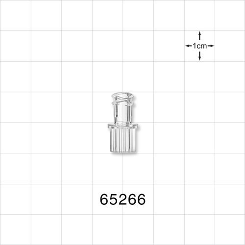 Female Luer Lock Connector, Clear - 65266