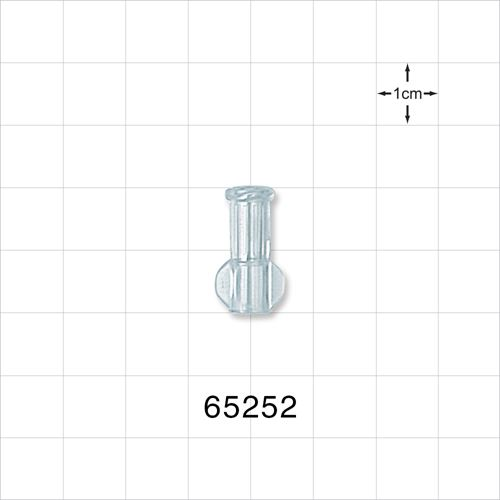 Female Luer Connector, Clear - 65252