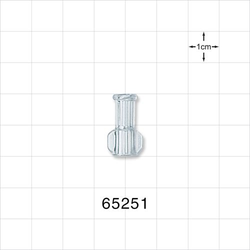 Female Luer Connector, Clear - 65251