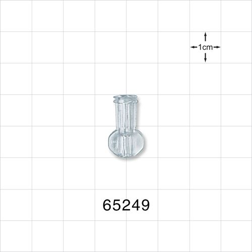 Female Luer Connector - Radiation Grade, Clear - 65249