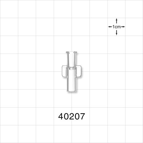 Female NRFit™ Connector, Clear - 40207