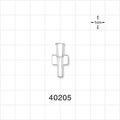 Female NRFit™ Connector, Clear - 40205