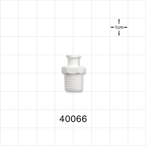 Female Luer Lock Connector, White - 40066