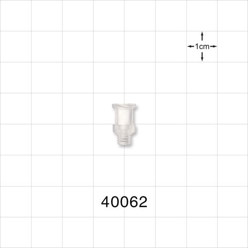 Female Luer Lock Connector, Natural - 40062