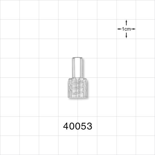 Male NRFit™ Connector, Clear - 40053
