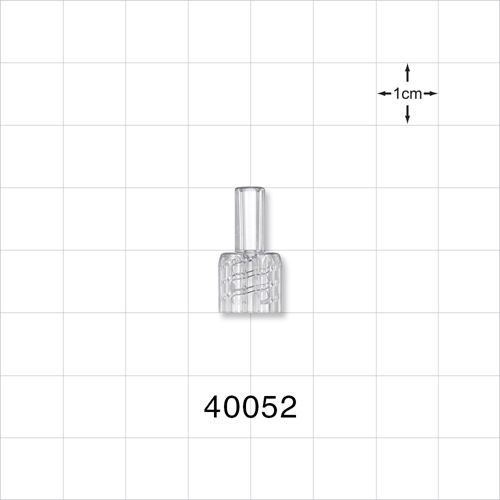 Male NRFit™ Connector, Clear - 40052