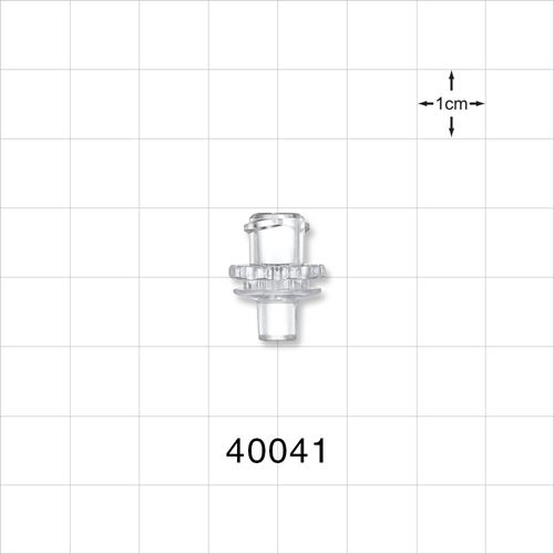 Female ENFit® Connector, Clear - 40041