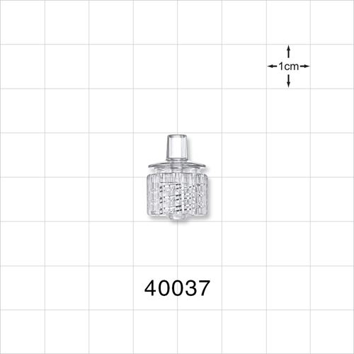 Male ENFit® Connector, Clear - 40037