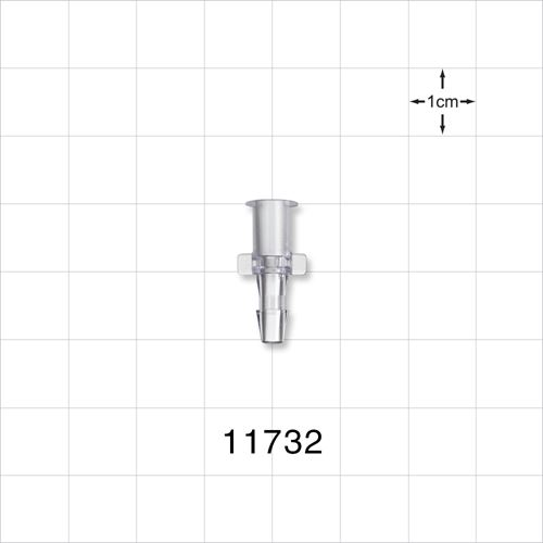 Female Luer Lock to Barb Connector - 11732