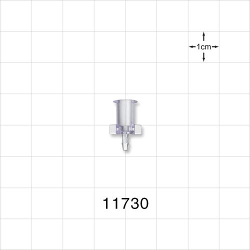 Female Luer Lock to Barb Connector - 11730