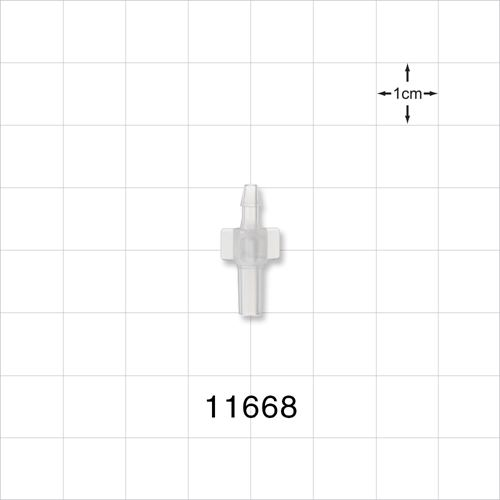 Male Luer Slip to Barb Connector - 11668