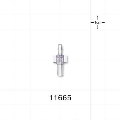 Male Luer Slip to Barb Connector - 11665
