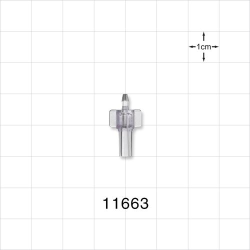 Male Luer Slip to Barb Connector - 11663