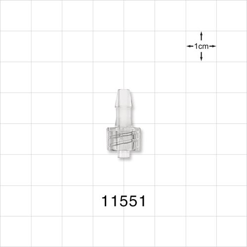 Male Luer Lock to Barb Connector - 11551