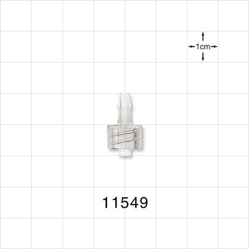 Male Luer Lock to Barb Connector - 11549