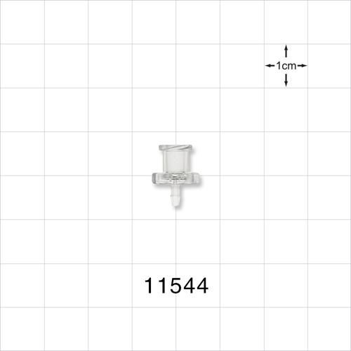 Female Luer Lock to Barb Connector - 11544