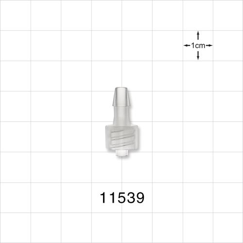 Male Luer Lock to Barb Connector - 11539