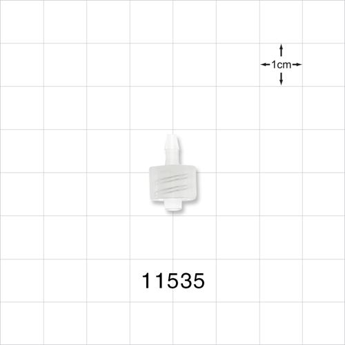 Male Luer Lock to Barb Connector - 11535