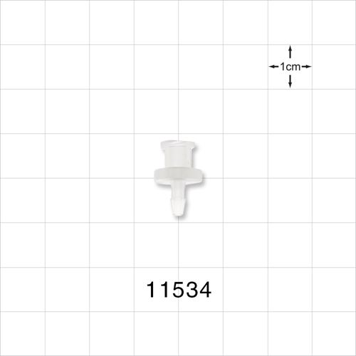 Female Luer Lock to Barb Connector - 11534