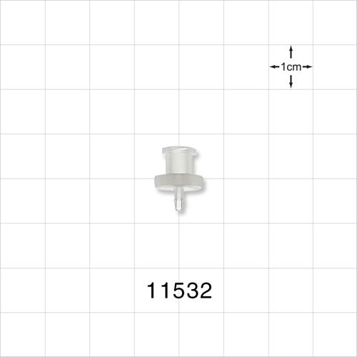Female Luer Lock to Barb Connector - 11532