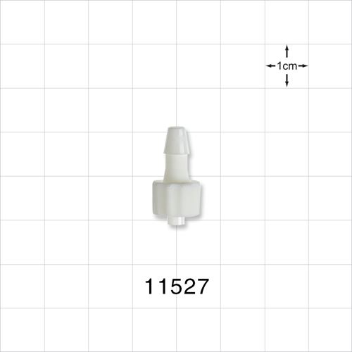 Male Luer Lock to Barb Connector - 11527