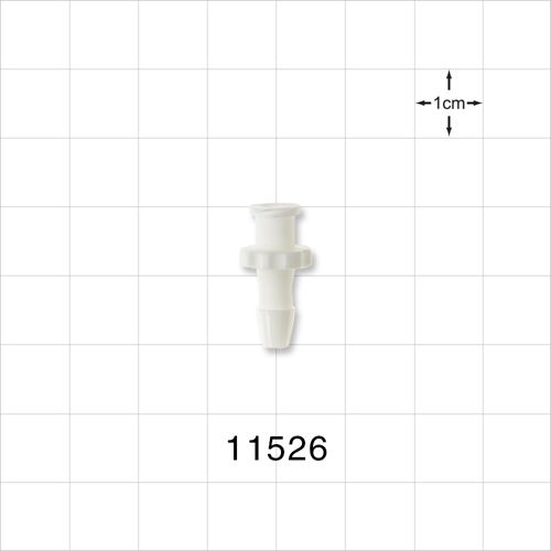 Female Luer Lock to Barb Connector - 11526