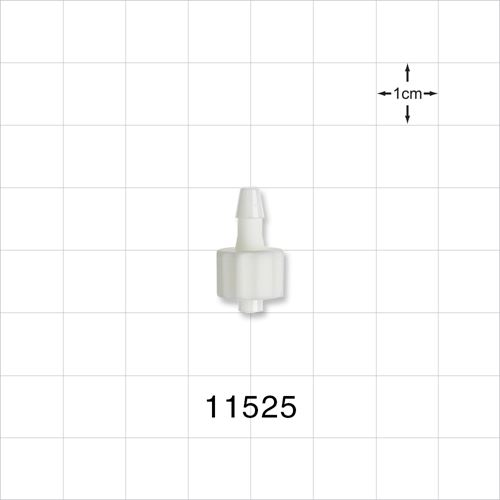 Male Luer Lock to Barb Connector - 11525