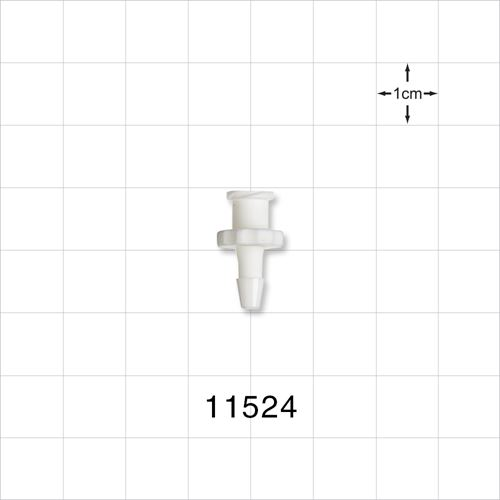 Female Luer Lock to Barb Connector - 11524