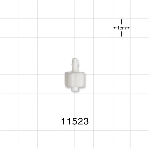 Male Luer Lock to Barb Connector - 11523