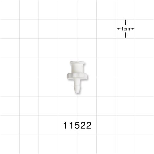 Female Luer Lock to Barb Connector - 11522