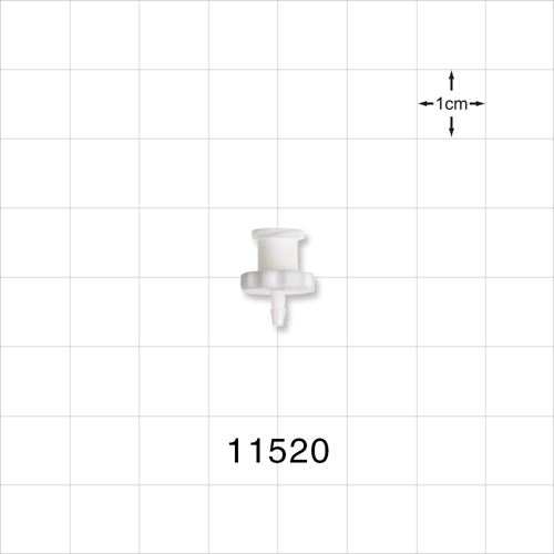 Female Luer Lock to Barb Connector - 11520