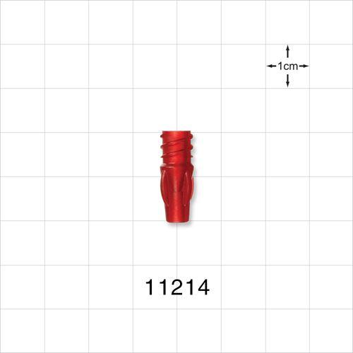 Female Luer Lock with Finger Grips - 11214