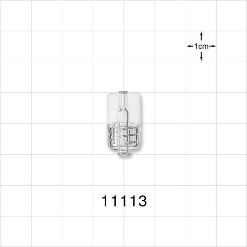 Microbore Male Luer Lock Connector - 11113