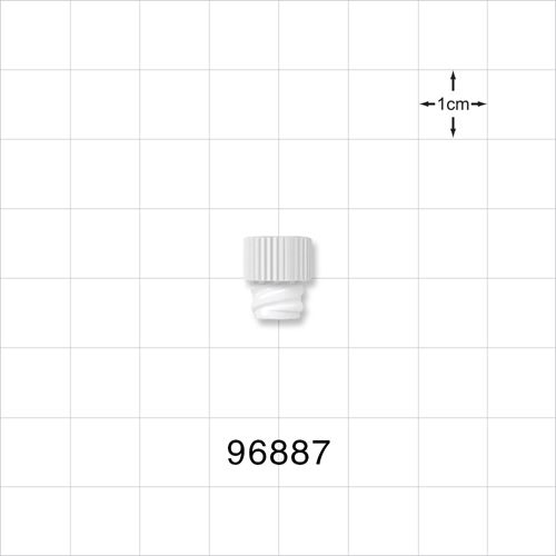 Cap with Female Luer, Vented Threads - 96887