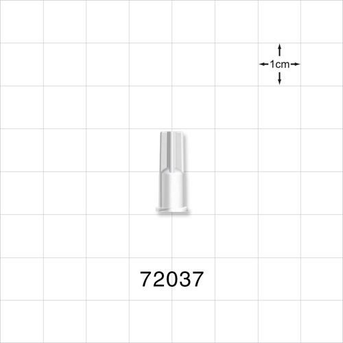 Vented Female Luer Lock Cap - 72037