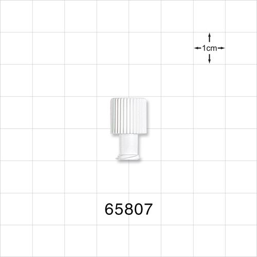 Non-Vented Double Dead-Ender with Single Thread on Female End - 65807