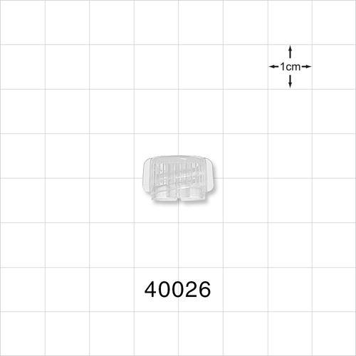 Male ENFit® Cap, Vented, Natural - 40026