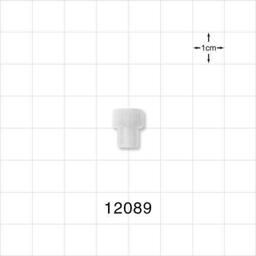 Vented Female Luer Cap with 3 Micron Hydrophobic Filter - 12089