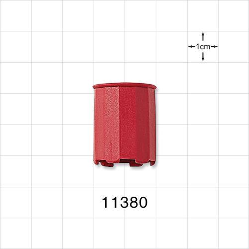 Vented Dust Cap, Red - 11380