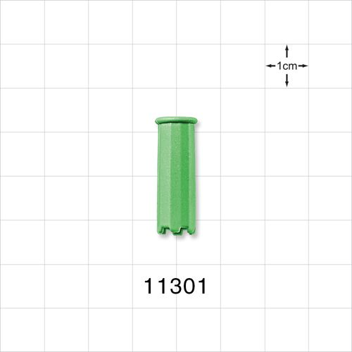 Vented Dust Cap, Green - 11301