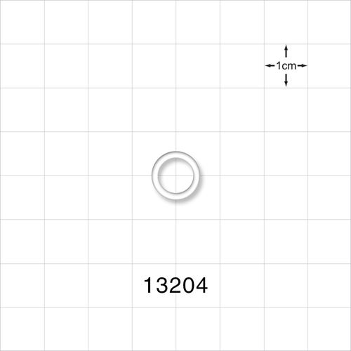 O-Ring, Clear, AS-011 - 13204