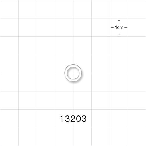 O-Ring, Clear, AS-010 - 13203