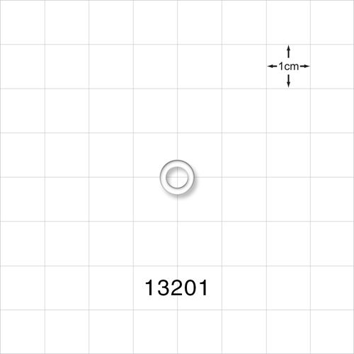O-Ring, Clear, AS-008 - 13201