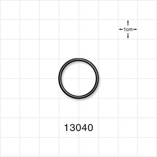 O-Ring, Black, AS-017 - 13040