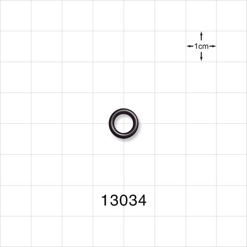 O-Ring, Black, AS-010 - 13034