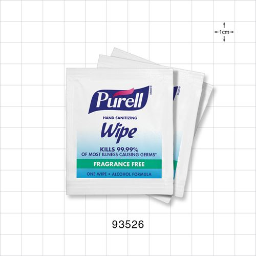 Purell® Individually Wrapped Hand Sanitizing Wipes - 93526