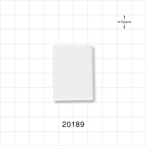 Rectangular Sponge, White - 20189