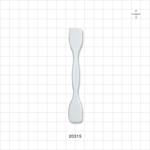 Dual Ended Spatula, White - 20315