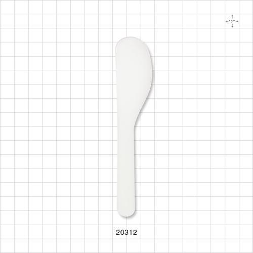 Large Head Spatula, White - 20312