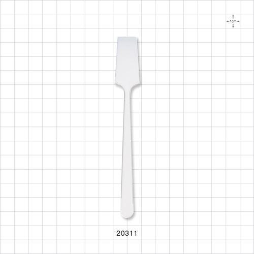 Spade Shaped Spatula, White - 20311